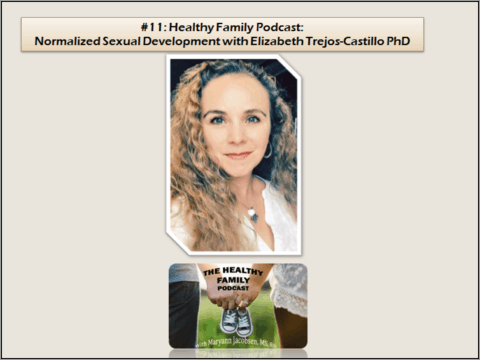 "Forget Having ""The Talk"" with Your Child. How to Normalize Sexual Development with Elizabeth Trejos-Castillo [Podcast]"