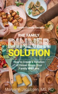 The Family Dinner Solution book cover