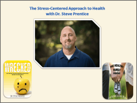 """When the Quest for """"Perfect Health"""" Makes People Less Healthy. The Stress-Centered Approach to Health with Dr. Steve Prentice [Podcast]"""