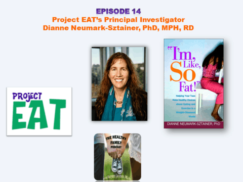 Preventing Eating and Weight-Related Problems in Children. Project EAT's Principal Investigator Dianne Neumark-Sztainer [Podcast]