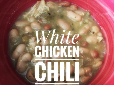 Crockpot White Chicken Chili (And How I Help My Kids Enjoy Mixed Dishes)