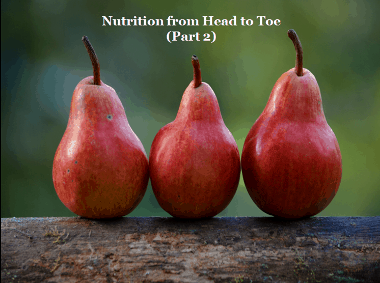 Nutrition from Head to Toe During Puberty (Part 2)