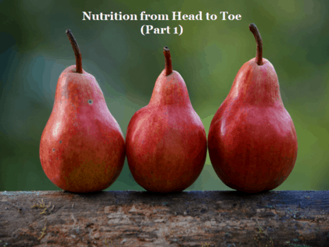 Nutrition From Head to Toe During Puberty (Part 1)