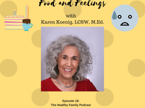 Food and Feelings. How to Prevent or Curb Emotional Eating with Karen Koenig [Podcast]