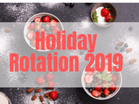 Holiday Rotation 2019