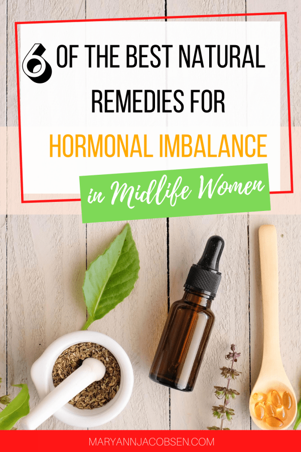 natural remedies hormones midlife