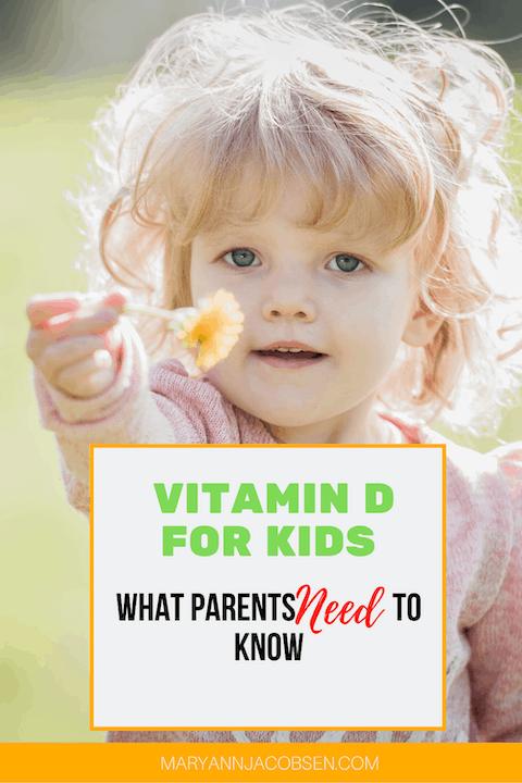 vitamin D for kids