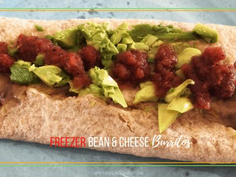 Freezer Bean and Cheese Burritos [Recipe]