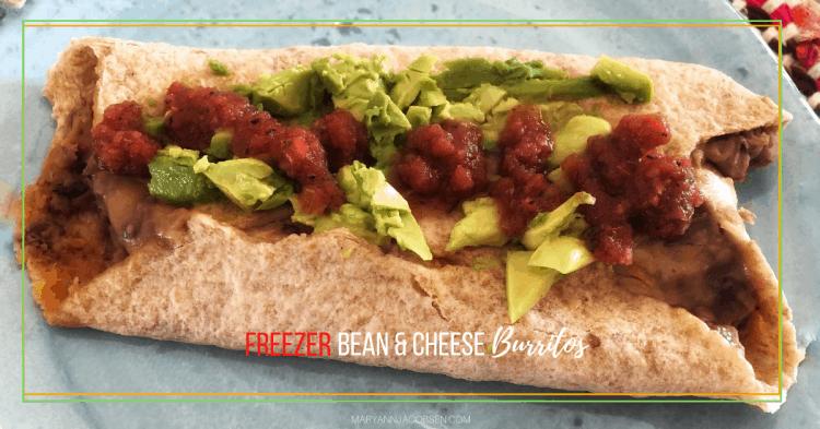 Burritos de feijão e queijo congelador [Recipe] 31