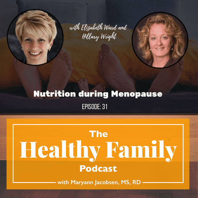 Nutrition during menopause guests Hillary and Liz